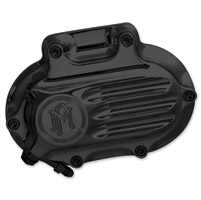 Performance Machine Fluted Black Ano Hydraulic Clutch Cover