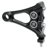 Performance Machine Black Direct Bolt-On 4-Piston Rear Caliper