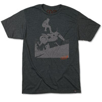 Roland Sands Design Men's Steppin' Off Charcoal T-shirt