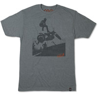 Roland Sands Design Men's Steppin' Off Platinum T-shirt