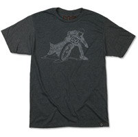 Roland Sands Design Men's Wordslide Charcoal T-shirt
