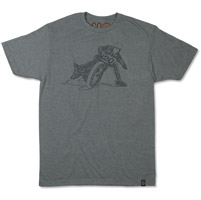 Roland Sands Design Men's Wordslide Platinum T-shirt