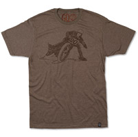 Roland Sands Design Men's Wordslide Brown T-shirt