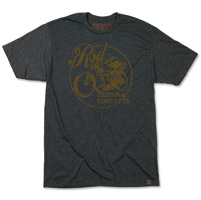 Roland Sands Design Men's Design and Concepts Charcoal T-shirt