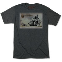RSD Apparel Men's Big Slide Charcoal T-shirt