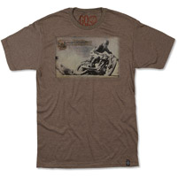 RSD Apparel Men's Big Slide Brown T-shirt