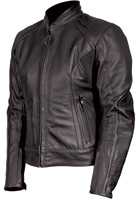 AGV Sport Women's Aspen Black Leather Jacket
