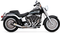 Roland Sands Design Slant 2 into 1 Stainless Steel Exhaust System