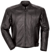 Tour Master Coaster 3 Men's Black Leather Jacket