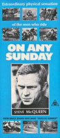 Steve McQueen, On Any Sunday Poster