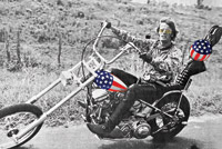 Easy Rider Captain America Poster