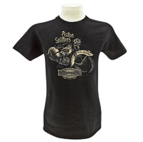National Motorcycle Museum Men's Piston Splitters Black T-shirt
