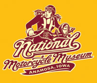 National Motorcycle Museum Women's Lady Rider Gold T-shirt