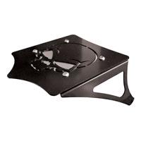 BDD Custom Black Skull Luggage Rack for Solo Seats