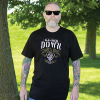 Chapter 13 Men's Hammer Down BlackT-shirt