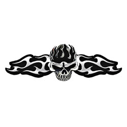 Hair Ringz Skull & Blades