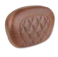 Mustang Brown Diamond Stitch Sissy Bar Pad