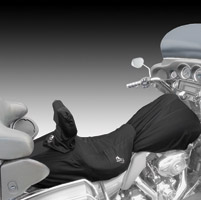 BikeSheath Black Seat and Tank Cover w/Backrest