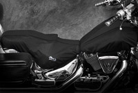 BikeSheath Black Seat and Tank Cover