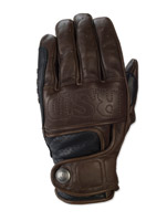 Roland Sands Design Mission Tobacco Leather Gloves