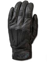 Roland Sands Design Barfly Men's Black Leather Gloves