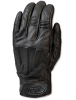 Roland Sands Design Barfly Men's Black Leather Gloves