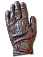 Roland Sands Design Barfly Men's Tobacco Brown Leather Gloves