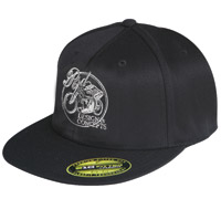 Roland Sands Design Design and Concepts Black Twill Hat