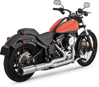 Vance & Hines Stainless Hi-Output 2-Into-1 Exhaust