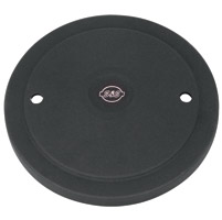 S&S Cycle Black Jack Muscle Air Cleaner Cover with S&S Logo