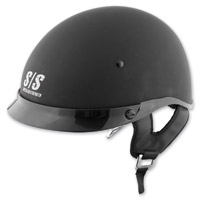 Speed and Strength SS400DVD Solid Speed Matte Black Half Helmet
