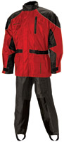 Nelson-Rigg AS-3000 Aston Red 2-piece Rain Suit