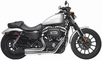 Rush Chrome Straight-Cut Shorty Sporty Full System Exhaust