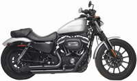 Rush Black Slash Down Shorty Sporty Full System Exhaust