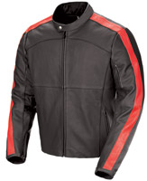 Joe Rocket Speedway Black/Red Leather Jacket