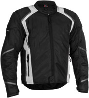 Firstgear Men's Mesh-Tex Black Jacket