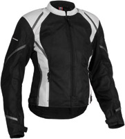 Firstgear Women's Mesh-Tex Black Jacket