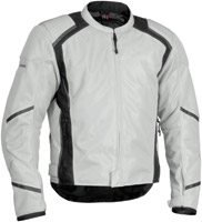 Firstgear Men's Mesh-Tex Silver Jacket
