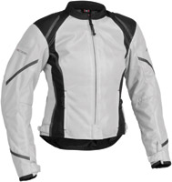 Firstgear Women's Mesh-Tex Silver Jacket