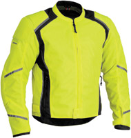 Firstgear Men's Mesh-Tex DayGlo Jacket