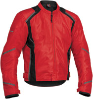 Firstgear Men's Mesh-Tex Red Jacket