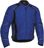 Firstgear Men's Mesh-Tex Blue Jacket