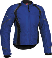 Firstgear Women's Mesh-Tex Blue Jacket