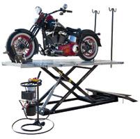 Titan Lifts 1500XLT-E Electric Motorcycle Lift