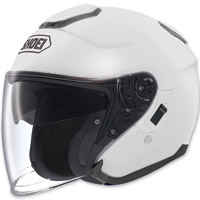 Shoei J-Cruise Open Face White Helmet