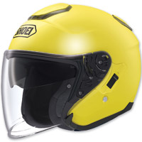 Shoei J-Cruise Open Face Brilliant Yellow Helmet