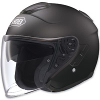 Shoei J-Cruise Open Face Matte Black Helmet