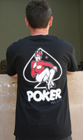 Crank & Stroker Supply Men's Poker Run Black T-Shirt