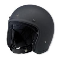 Biltwell Inc. Bonanza Flat Black Open Face Helmet