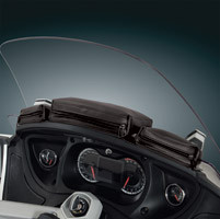 Hopnel Dashboard Tri-Pouch for Can Am Spyder